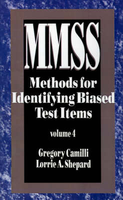 Methods for Identifying Biased Test Items - Measurement Methods for the Social Science (Paperback)
