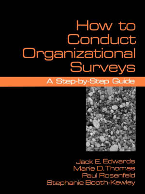 How To Conduct Organizational Surveys: A Step-by-Step Guide (Paperback)