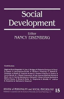 Social Development - The Review of Personality and Social Psychology (Paperback)