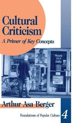 Cultural Criticism: A Primer of Key Concepts - Feminist Perspective on Communication (Hardback)