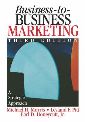 Business-to-Business Marketing: A Strategic Approach (Hardback)
