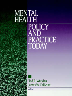 Mental Health Policy and Practice Today (Paperback)