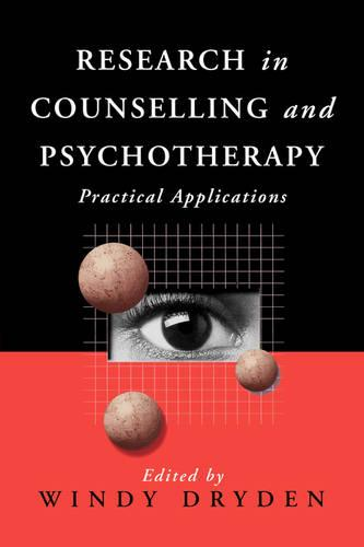 Research in Counselling and Psychotherapy: Practical Applications (Paperback)