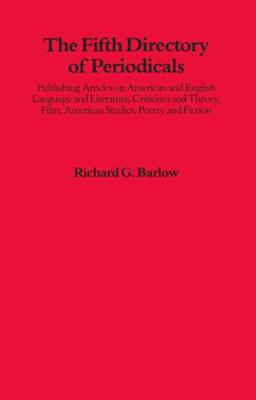 Fifth Directory Of Periodicals: Publishing Articles On American And English (Hardback)