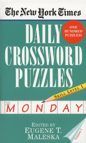 New York Times Daily Crossword Puzzles (Monday), Vo (Paperback)