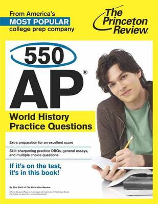 550 Ap World History Practice Questions (Paperback)