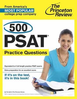 500 Psat Practice Questions (Paperback)