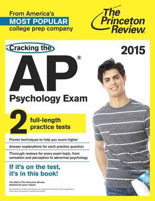 Cracking The Ap Psychology Exam, 2015 Edition (Paperback)