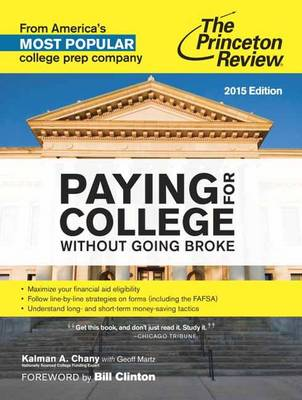 Paying For College Without Going Broke, 2015 Edition (Paperback)