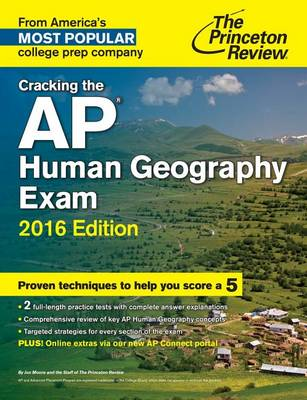 Cracking The Ap Human Geography Exam, 2016 Edition (Paperback)