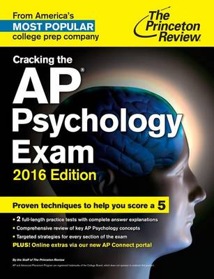 Cracking The Ap Psychology Exam, 2016 Edition (Paperback)