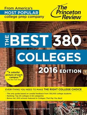 The Best 379 Colleges, 2016 Edition (Paperback)