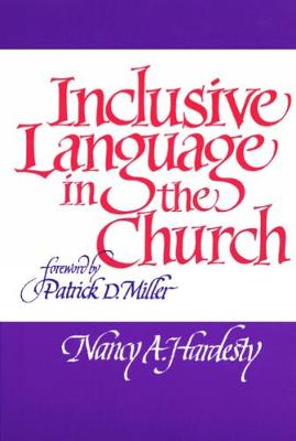 Inclusive Language in the Church (Paperback)