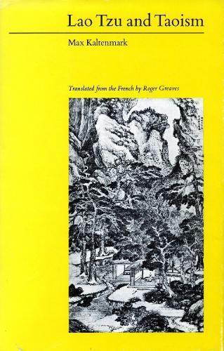 Lao Tzu and Taoism (Paperback)