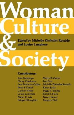 Woman, Culture, and Society (Paperback)