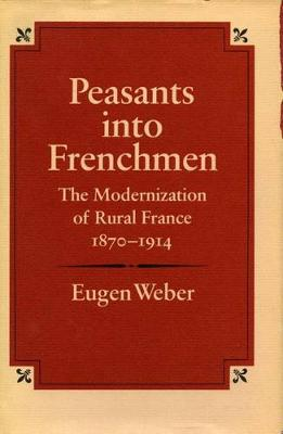 Peasants into Frenchmen: The Modernization of Rural France, 1870-1914 (Hardback)
