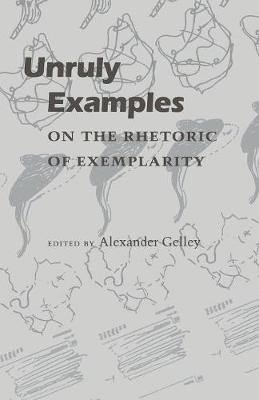 Unruly Examples: On the Rhetoric of Exemplarity (Paperback)