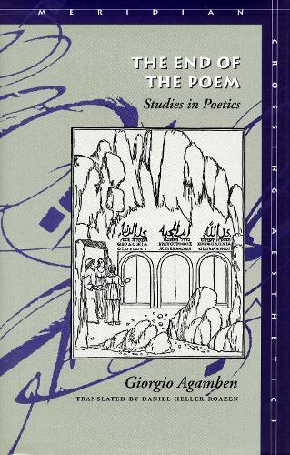 The End of the Poem: Studies in Poetics - Meridian: Crossing Aesthetics (Paperback)