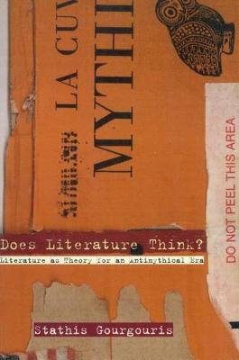 Does Literature Think?: Literature as Theory for an Antimythical Era (Hardback)