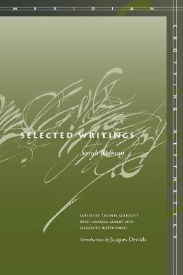 Selected Writings - Meridian: Crossing Aesthetics (Paperback)