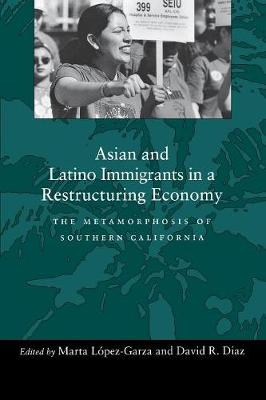 Asian and Latino Immigrants in a Restructuring Economy: The Metamorphosis of Southern California (Paperback)