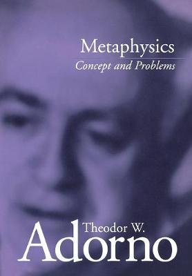 Metaphysics: Concept and Problems (Hardback)