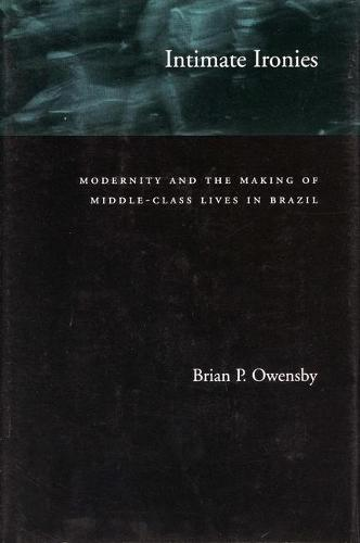 Intimate Ironies: Modernity and the Making of Middle-Class Lives in Brazil (Paperback)