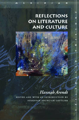 Reflections on Literature and Culture - Meridian: Crossing Aesthetics (Hardback)