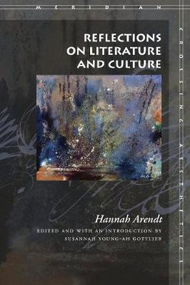 Reflections on Literature and Culture - Meridian: Crossing Aesthetics (Paperback)