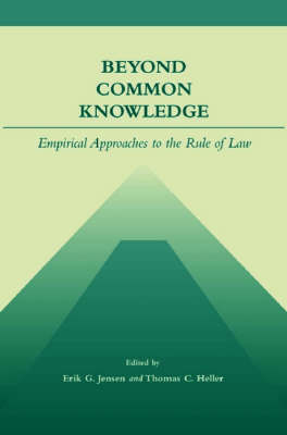 Cover Beyond Common Knowledge: Empirical Approaches to the Rule of Law