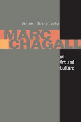 Marc Chagall on Art and Culture - Contraversions: Jews and Other Differences (Paperback)