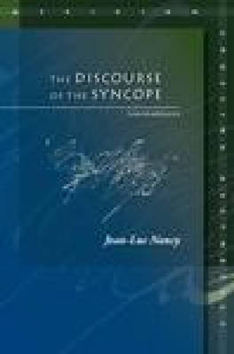 The Discourse of the Syncope: Logodaedalus - Meridian: Crossing Aesthetics (Hardback)