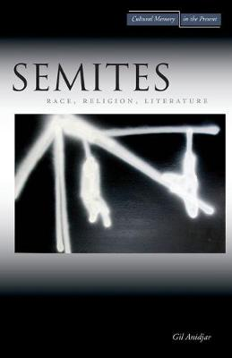 Semites: Race, Religion, Literature - Cultural Memory in the Present (Paperback)