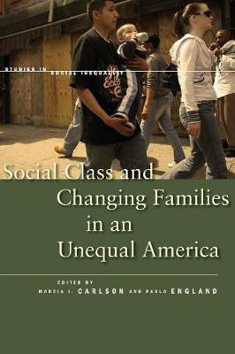 Social Class and Changing Families in an Unequal America - Studies in Social Inequality (Paperback)