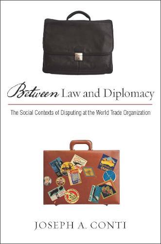 Between Law and Diplomacy: The Social Contexts of Disputing at the World Trade Organization (Hardback)