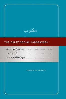 The Great Social Laboratory: Subjects of Knowledge in Colonial and Postcolonial Egypt (Paperback)