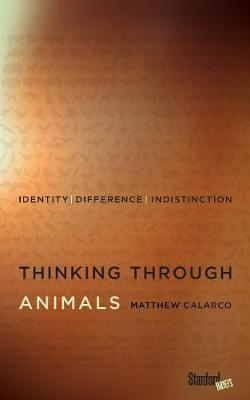 Thinking Through Animals: Identity, Difference, Indistinction (Paperback)
