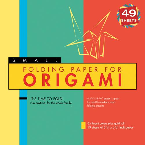 """Folding Paper for Origami - Large 8 1/4"""" - 49 Sheets: Tuttle Origami Paper: High-Quality Large Origami Sheets: Instructions for 6 Projects Included"""