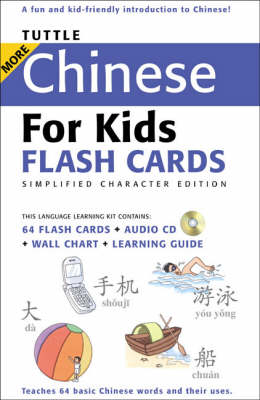 Tuttle More Chinese for Kids - Tuttle Flash Cards