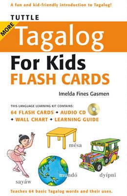 Tuttle More Tagalog for Kids Flash Cards - Tuttle Flash Cards
