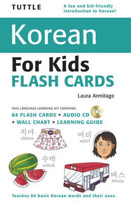 Tuttle Korean for Kids Flash Cards