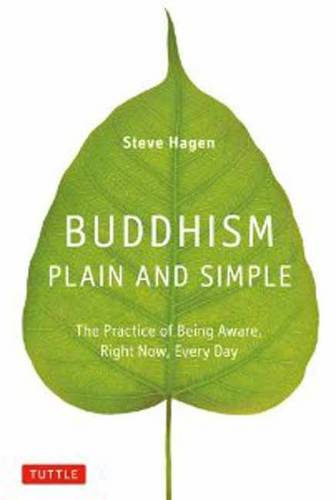 Buddhism Plain and Simple: The Practice of Being Aware, Right Now, Every Day (Hardback)