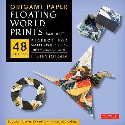 Origami Paper: Floating World Ukiyo-E Prints (Small)
