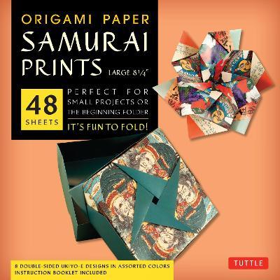Origami Paper Samurai Print Large