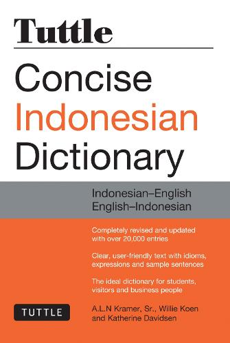 Tuttle Concise Indonesian Dictionary: Indonesian-English English-Indonesian (Paperback)