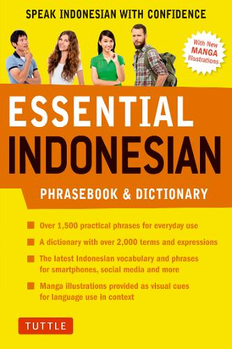 Essential Indonesian Phrasebook and Dictionary: Speak Indonesian with Confidence! (Paperback)
