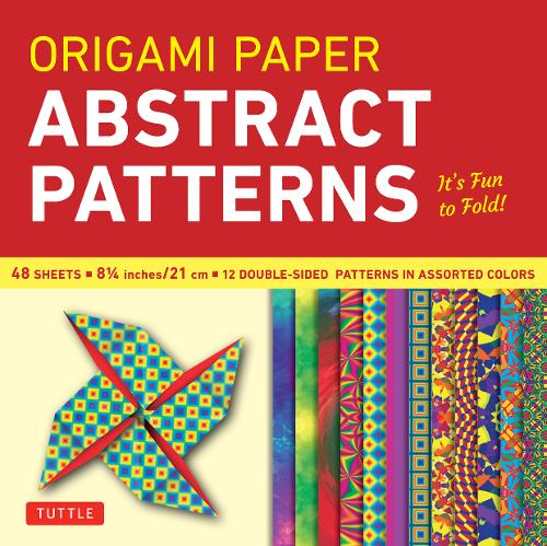 Origami Paper: Abstract Patterns (Paperback)