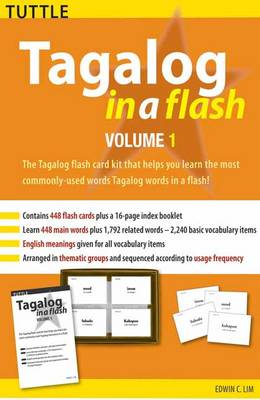 Tagalog in a Flash Kit Volume 1 - Tuttle Flash Cards
