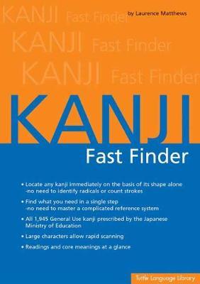 Kanji Fast Finder (Paperback)