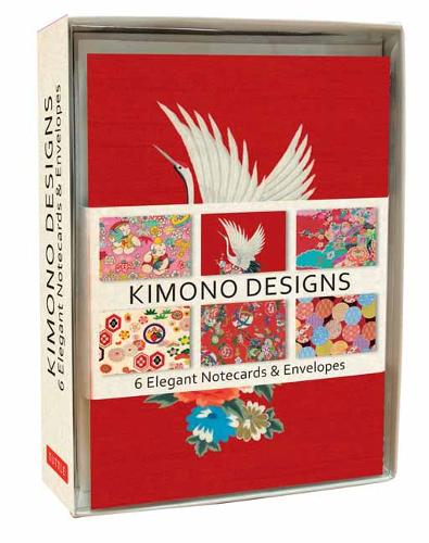 Kimono Note Cards: 6 Blank Note Cards and Envelopes